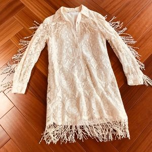 AMAZING vintage 60s fringe dress!!